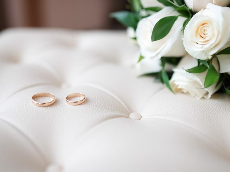 Wedding Planner a Torino e cuscino per le fedi