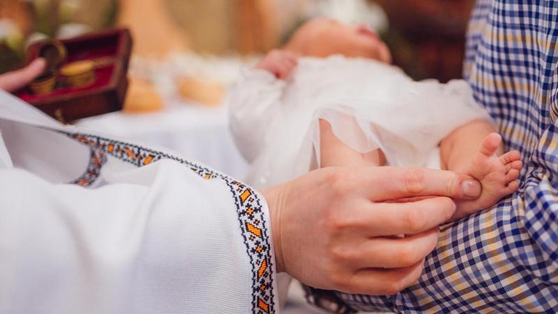 Battesimo bambino